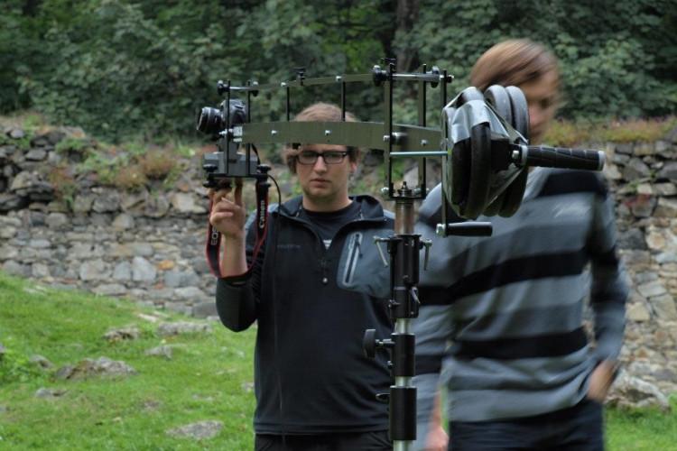 Natáčení videoklipu